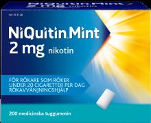 NiQuitin® Mint tuggummi